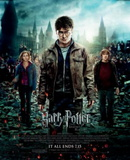 Harry Potter and the Deathly Hallows Part II (Danielle Radcliffe, Emma Watson) Movie Poster Plakater