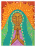 Virgin de Guadalupe Poster by Tamara Adams
