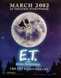 E.T. (Henry Thomas, Drew Barrymore) Movie Poster Poster