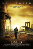I Am Legend (Will Smith) Movie Poster Plakater