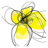 Yellow Petals Three Posters af Jan Weiss