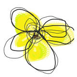 Yellow Petals Two Prints by Jan Weiss