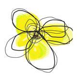 Yellow Petals Two Kunstdruck von Jan Weiss
