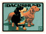 Dachshund Prints by Laura Wilder