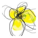 Yellow Petals Three Kunstdrucke von Jan Weiss