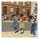 Double Dutch Print by Phyllis Stephens