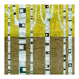 Fall Birches Posters by Michelle Calkins