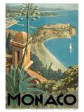 Monaco - Monte Carlo, French Riviera Poster by E. Clerissi