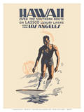 Hawaii Direct from Los Angeles Poster