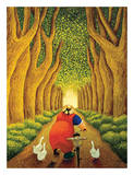 Home from the Market Poster by Lowell Herrero