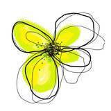 Yellow Petals One Kunstdrucke von Jan Weiss