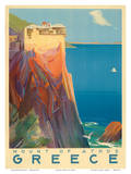 Mount of Athos - Greece - The Holy Mountain Posters