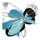 The Flower Dances 2 Kunstdruck von Jan Weiss