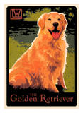 Golden Retriever Poster by Laura Wilder