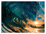 Morning Color - Hawaiian Wave Posters by  Bradberry