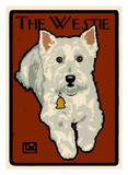 Westie Poster by Laura Wilder