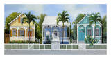 Key West Cottages Posters par John Ketley