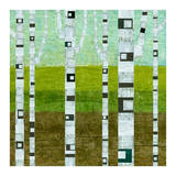 Summer Birches Posters by Michelle Calkins