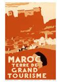 Maroc Terre De Grand Tourisme (Morocco Land of Grand Touring) Poster von Robert Génicot