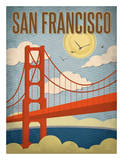 San Francisco – Golden Gate Bridge Prints by Renee Pulve