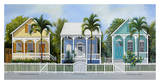 Key West Cottages Art by John Ketley