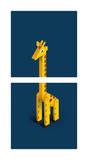 Giraffe Poster by Bo Virkelyst Jensen