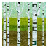 Summer Birches Prints by Michelle Calkins