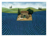 Lavender Field Posters by Lowell Herrero