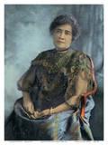 Queen Lili'uokalani (Liliuokalani) of Hawai'i (1838-1917) - Island Curio Co., Honolulu Posters
