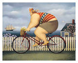 Mary's New Bike Posters by Lowell Herrero