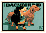 Dachshund Prints by Laura Wilder