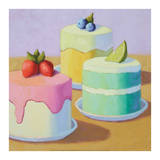 Sweet Trio Prints by Patricia Doherty