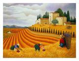 Lowell Herrero - Village Harvest Plakát