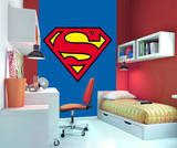 Superman Wallpaper Mural Vægplakat i tapetform
