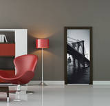 Brooklyn Bridge Door Wallpaper Mural - Duvar Resimleri