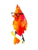 Punk Bird Affiches par Robert Farkas