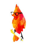Punk Bird Prints by Robert Farkas