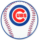 Chicago Cubs Tin Sign Tin Sign