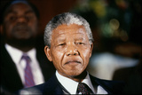 Nelson Mandela Photographic Print by D. Michael Cheers