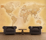 Old Map Wallpaper Mural Wallpaper Mural