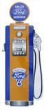 Ford Gas Pump Die-cut Tin Sign Tin Sign