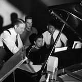 Carmen McRae, CBS Radio 1955 Photographic Print by G. Marshall Wilson
