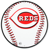 Go Cincinnati Reds Tin Sign Tin Sign