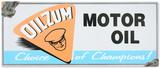 Oilzum Tin Sign Tin Sign