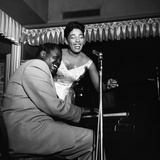 Carmen McRae, Oscar Peterson, 1956 Photographie par William Lanier