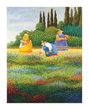 Spring Gathering Plakater af Lowell Herrero