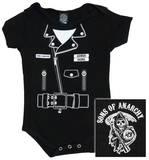 Infant: Sons of Anarchy - SOA Jacket Diaper Suit Infant Onesie