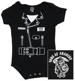 Infant: Sons of Anarchy - SOA Jacket Diaper Suit T-Shirt