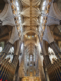 England, London, Westminster, Westminster Abbey, Interior View Photographic Print by Steve Vidler