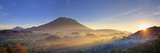 Indonesia, Bali, Sidemen, Sidemen Valley and Gunung Agung Volcano Photographic Print by Michele Falzone